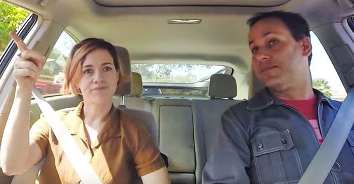 NARAL in the Car Getting a Bad Review